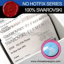 Swarovski Elements Air Blue Opal (285) 30ss Flat Back Crystal No Hot Fix Rhinestone