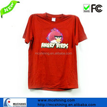 funny children t-shirt with led animation design