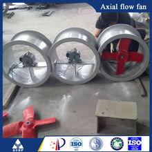 cargo holding fan industrial axial flow ventilation fan