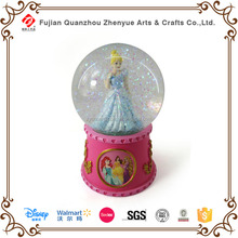 Licensed Disney Supplier Manafactory,Glass Plastic Resin Disney Snow Globes Gift,Disney Figures Decoration