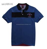 2015 polo t shirt stylish shirts for men new design stylish shirt cheap chinese t-shirt yarn dyed fabric suppliers