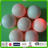 Cheap funny colorful fantastic design LED luminous golf ball manufacturer