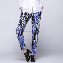 Modern factory direct plain color fleece women's prints long pants