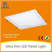lighting product turkey aluminum frame square led panel light 30x30 24W for home decoration