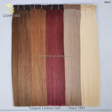 23 Years Experience Factory Top Quality 100% Human hair extension wholesale remy double drawn