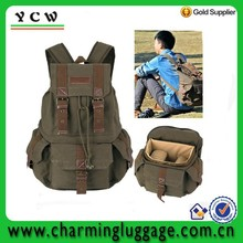 DSLR SLR Canvas Large Camera Bag Backpack Rucksack Digital Accessories Camera Bag