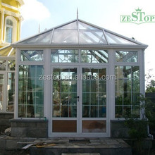 Customized high quality aluminium doors and windows designs for sunroom