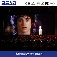 high resolution indoor p3 concert led display full color stage led screen