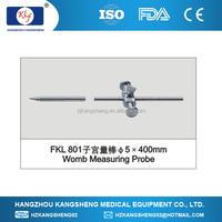 2014 laparoscopy gynaecology surgical instrument, uterine measuring stick
