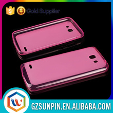 Soft tpu pudding phone cover case for alcatel one touch pop c5