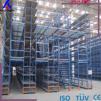 double level heavy duty multi tier rack