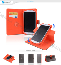 universal smartphone flip case for 4.3 inch/ 4.5 inch/5.0 inc