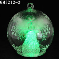 2015 wholesale Xmas fashion and lovely led ball hanging for christmas decoration