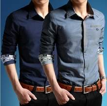 2014 latest design fashion shirt for men