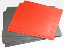 laser engraving rubber sheet/mini stamp rubber laser engraving machine/rubber for laser engraving machine