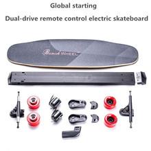 Dual-drive 3600w wireless remote control sport electro skateboard cheap 4 wheel electric scooter
