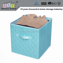 Foldable color decorative cube fabric storage box sale