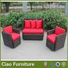 high quality rattan outdoor furniture garden set