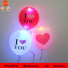 LED latex balloon for commercial promotion activity