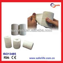 2015 wholesale sports Tearable medical adhesive horse leg elastic cohesive bandage tapeing