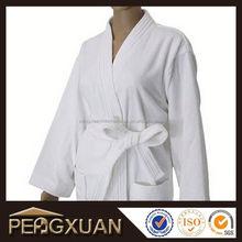promotion white plain hotel bathrobes for men robe skirt