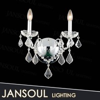 magnifying promotional egyptian style charming decorative crystal chain drop wall sconce hanging mounted chandelier