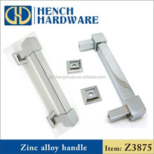 Kitchen cabinet hardware zinc alloy furniture handle