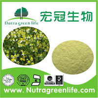 Halal&Kosher German Chamomile Extract,High Quality Chamomile Flower Extract Powder