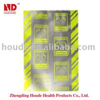 Real manufacturer!100% natural!detox foot patch jun gong