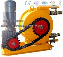 Industrial Application - Peristaltic Hose Pump (with frequency converters)