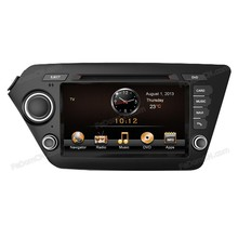 8 inch touch screen 2 din Car dvd player with gps/radio/ipod/bluetooth for Kia K2