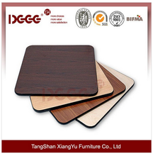 Factory Price Used Round Melamine Table top For Sale