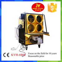 energy saving eco-friendly kingwei6000 oil fired air heater/waste oil air heater/diesel air heater