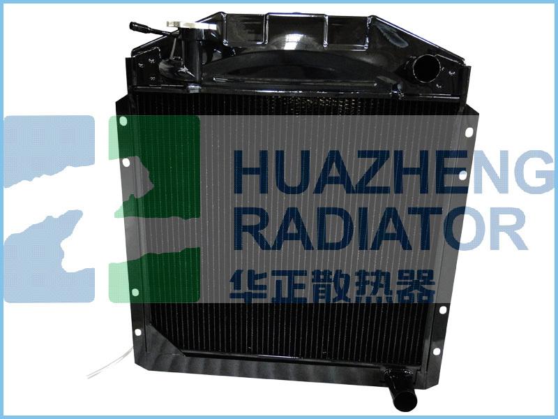 Heavy Duty Truck Plastic Tank Aluminum Core Manufacturer Auto Radiator