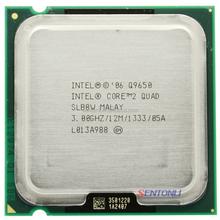 Q9650 intel cpu core 2 Quad processor 775 socket cpu Q9650