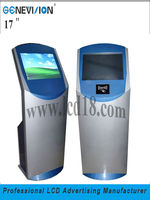 "19"" Digital LCD Ad Display With Touchscreen All In One PC Kiosk(MPC-170AT)"
