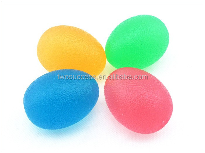 TPU Egg Shaped Stress Balls