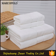 New product of cotton tea towel fabric/China terry cloth fabric wholesale/white beach towel with pillow