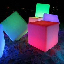 wholesale chair cube shaped/wholesale prices plastic tables and chairs/led cube lighting