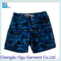 stylish quality 100% microfiber polyester swimwear men