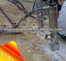 easy operate BSGH low cost BS-HD90A rock splitter machine / concrete splitting machine