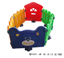 Happy bear plastic playing fence kids ball pool children play area