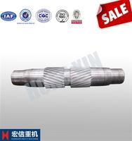 High Frequency Quenching Long Spline 42CrMo4 Gear Shaft