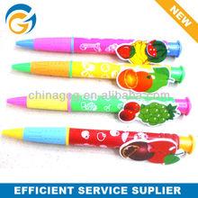 Cartoon Bee Butterfly Clip Plastic Ball Pen