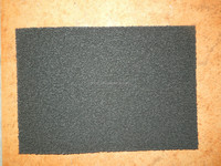 carbon sponge filter pads