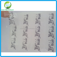 Custom high quality adhesive super clear labels transparent sticker for cosmetics products