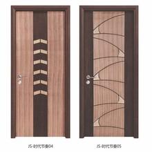 contemporary pace cherry veneer laminated wood door with half hollow core new door design