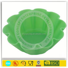 FDA/LEGB standard 2013 Target Audited Factory directly sale 6 cups Easter egg silicone cake mould/muffin mould/jeffy mould