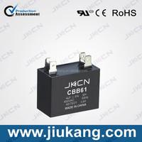 2015 New Arrival cbb61 metallized polypropylene film capacitor