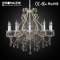 Contemporary design antique crystal chandelier lighting